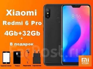 Xiaomi Redmi 6 Pro. Новый, 32 Гб, 4G LTE, Dual-SIM