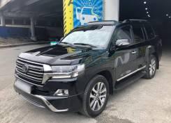 Аренда авто с водителем Toyota Land Cruiser 200 на ВЭФ 2018