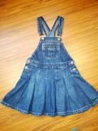 Сарафаны джинсовые. Рост: 110-116 см