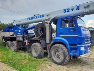 Галичанин КС-55729-5В. Автокран 32 тонны галичанин 2014 год, 7 000куб. см., 25 000кг., 31м.