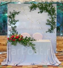 Оформление свадебного зала!