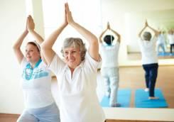 Йога 50+ (йога для старшего возраста)