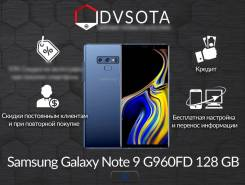 Samsung Galaxy Note 9. Новый, 128 Гб, Синий, 4G LTE, Dual-SIM, Защищенный