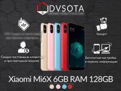 Xiaomi Mi6X. Новый, 128 Гб, Красный, Черный, 4G LTE, Защищенный