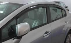 Ветровик на дверь. Honda Civic, EJ6, EJ7, EJ8, EK2, EK3, EK4, EM2, EN2, EP, EP1, EP2, EP4, ES1, ES4, ES5, ES9, EU, EU1, EU2, EU3, EU4, EU5, EU6, EU7...