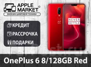 OnePlus 6. Новый, 128 Гб, Красный, 3G, 4G LTE, Dual-SIM, Защищенный
