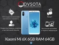 Xiaomi Mi6X. Новый, 64 Гб, Синий, 4G LTE, Защищенный