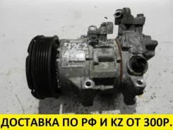 Компрессор кондиционера. Toyota Wish, ZNE10, ZNE10G, ZNE14, ZNE14G Toyota Avensis, ZZT250, ZZT251, ZZT251L Toyota Isis, ZNM10, ZNM10G, ZNM10W Двигател...
