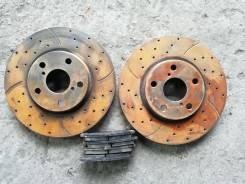 Колодки тормозные дисковые. Toyota Mark II, JZX100 Toyota Cresta, JZX100 Toyota Chaser, JZX100