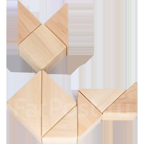 Конструкторы деревянные.