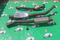 Выхлопная система. Toyota Mark II, JZX100 Toyota Cresta, JZX100 Toyota Chaser, JZX100 Двигатель 1JZGTE
