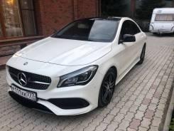 Mercedes-Benz CLA-Class. С водителем