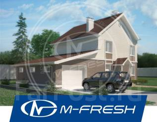 M-fresh Eskadra (Посмотрите этот проект дома с большим гаражом! ). 200-300 кв. м., 2 этажа, 5 комнат, бетон
