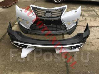 Обвес кузова аэродинамический. Toyota RAV4, ALA49, ASA44, ZSA42, ZSA44 Двигатели: 2ADFHV, 2ARFE, 3ZRFE