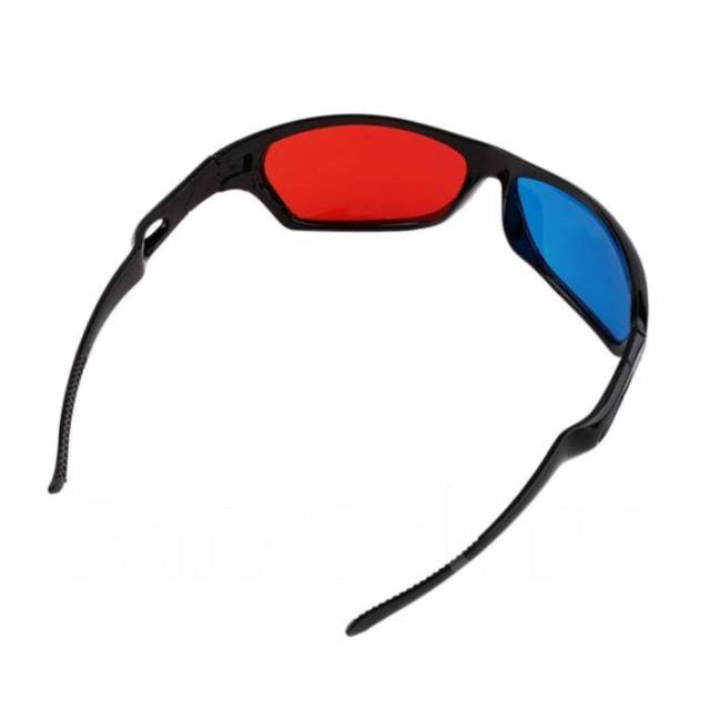 3D очки (стерео). Анаглифные - Аксессуары во Владивостоке b936695764d36