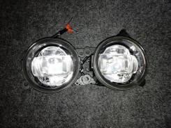 Противотуманная фара Toyota Corolla AE150 06->/ Avensis 06->/ Camry V40 06->/ Camry V50/ Previa 01-> линза, комплект 2 шт LED