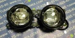 Противотуманная фара Daewoo/ Ford/ Mitsubishi/ Renault/ Citroen/ Peugeot/ Suzuki линза комплект 2 шт LED