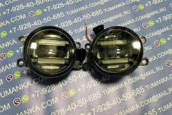 Противотуманная фара с DRL Toyota Corolla AE150 06->/ Avensis 06->/ Camry V40 06->/ Previa 01->комплект 2 шт LED