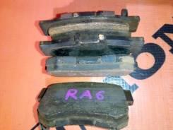 Колодки тормозные. Honda Odyssey, RA6, RA7, RA8, RA9 Honda Edix, BE2, BE4, BE3 Honda Stream, RN4, RN1, RN3, RN5 Двигатели: D17A, K20A, D17A2, K20A1, K...