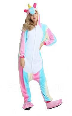Пижама Кигуруми Радужный единорог - Одежда для дома и сна во ... 743f27ca94c04