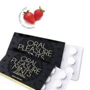 Таблетки Oral Pleasure Mints со вкусом клубники
