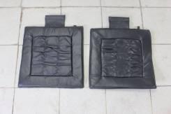 Накидки на сиденья кожаные JDM универсальные 2шт
