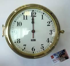 Часы XXL арабские цифры (полир.латунь) 280х190х115
