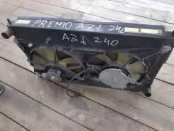 Радиатор охлаждения двигателя. Toyota Allion, AZT240