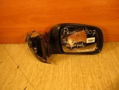 Зеркало заднего вида боковое. Peugeot 307