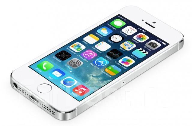 Купить белый смартфон Apple iPhone 5s в Южно-Сахалинске! Цены на новые и б у  мобильные телефоны Apple iPhone 5s 56d1d77f0d5