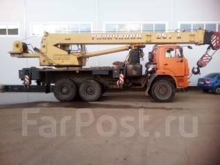 Галичанин КС-55713-5В. Автокран 2013 г. в., 12 000куб. см., 25 000кг., 28м.