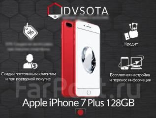 Apple iPhone 7 Plus. Новый, 128 Гб, Красный, 4G LTE, Защищенный. Под заказ