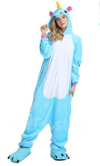 Пижама Кигуруми Единорог Голубой цвет во Владивостоке - Одежда для ... 2055bae796623