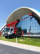 Аренда услуги автовышка люлька 28, 45, 50 метров Мойка фасадов