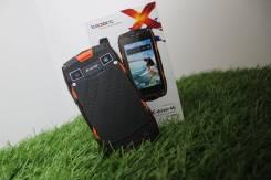 teXet TM-4084 X-driver 4G. Б/у, 8 Гб, Оранжевый, Черный, 3G, 4G LTE, Dual-SIM