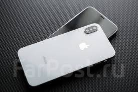 Apple iPhone X. Новый, 256 Гб и больше, Серебристый, Серый, 3G, 4G LTE