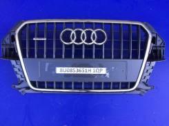 Решетка радиатора. Audi Q3, 8UB Двигатели: ALZ, CCTA, CCZC, CFFA, CFFB, CFGC, CFGD, CHPB, CLJA, CLLB, CPSA, CULB, CULC, CUWA, CYLA