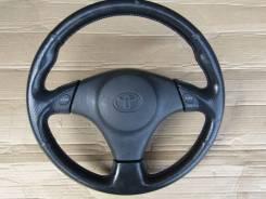 Руль. Toyota: Corolla Spacio, Vitz, Sprinter Trueno, Echo, Corolla, Probox, Sprinter Marino, Yaris Verso, Funcargo, Celica, Yaris, Carina, Sprinter, E...