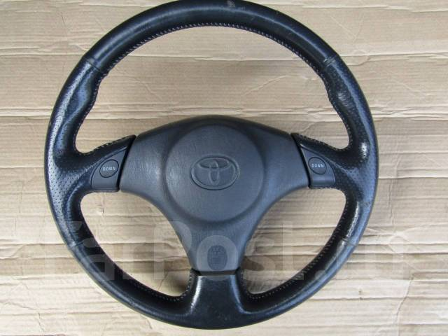 Руль. Toyota: Corolla Spacio, Vitz, Sprinter Trueno, Echo, Corolla, Sprinter Marino, Yaris Verso, Probox, Funcargo, Carina, Yaris, Celica, Sprinter, E...