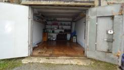 Продам гараж. улица Карбышева 11, р-н БАМ, 21кв.м., электричество, подвал. Вид снаружи