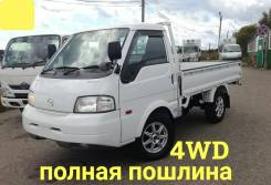 Mazda Bongo. 4WD, борт 1 тонна, 1 800куб. см., 1 000кг., 4x4