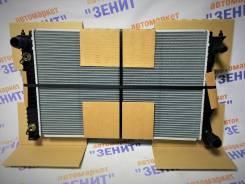 Радиатор охлаждения двигателя. Audi A6 allroad quattro, 4FH Audi A6 Avant Audi S6, 4F2, 4F5 Audi A6, 4F2, 4F2/C6, 4F5, 4F5/C6 Двигатели: ASB, AUK, BNG...
