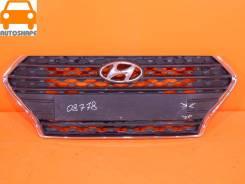 Решётка радиатора Hyundai Solaris 2