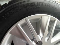 """Колеса на литых дисках с резиной Nokian Hakkapelita R2. 5.5x14"""" 4x100.00 ET45 ЦО 54,1мм."""