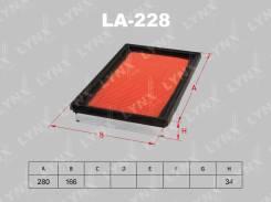 Фильтр воздушный LYNXauto аналог a243 vic for Nissan