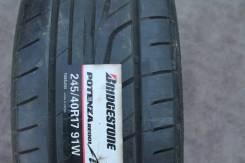 Bridgestone Potenza RE001 Adrenalin. Летние, 2008 год, без износа, 1 шт
