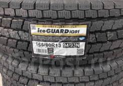 Yokohama Ice Guard IG91. Зимние, без шипов, 2016 год, без износа, 4 шт