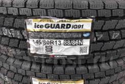 Yokohama Ice Guard IG91. Зимние, без шипов, 2017 год, без износа, 4 шт