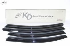 Дефлекторы окон черные (по 3 компл в упаковке) Kyoung Dong K-901-114