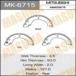 Колодки тормозные барабанные. Mitsubishi: L200, Pajero, Delica, L400, Montero 4D56, 4G63, 4G64, 4M40, 4G54, 6G72